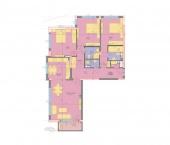 Апартамент 25-3A - ниво 8 - площ 155,84 м2