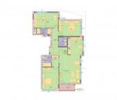 Апартамент 1-2B - ниво 1 - площ 158,88 м2