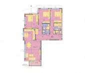 Апартамент 16 - ниво 5 - площ 155.84 м2