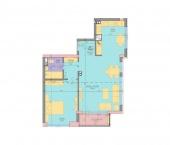 Апартамент 1 - ниво 1 - площ 94.67 м2