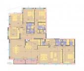 Апартамент 21-2A - ниво 7 - площ 285,79 м2