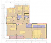 Апартамент 18-21A - ниво 6 - площ 285,79 м2