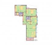 Апартамент 5 - ниво 2 - площ 127.73 м2