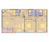 Апартамент 15 - ниво 5 - площ 129.95 м2