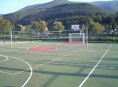Саморазливна спортна настилка на акрилна основа за външна спортна площадка